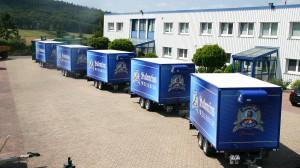 Kühlanhänger für Park & Bellheimer Brauereien