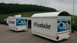 Krombacher-Schankwagen