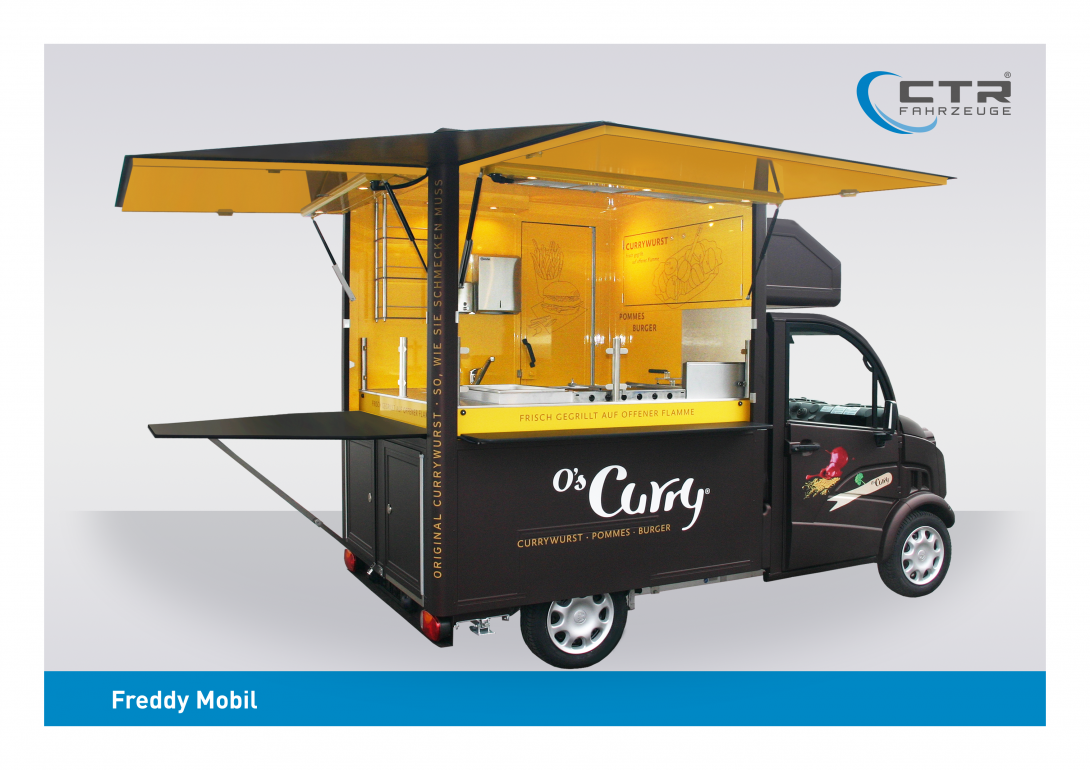 Freddy Mobil Cateringmobil Currywurst O's Curry