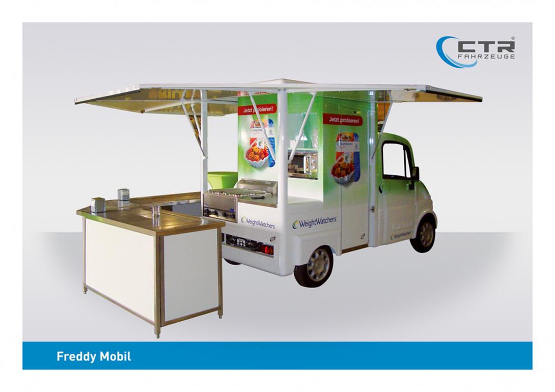 Freddy Mobil Cateringmobil Weight Watcher