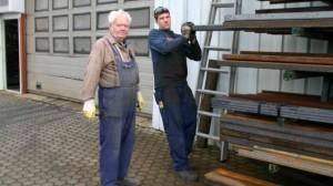 Michael Schneider und Andreas Zeiler von CTR Fahrzeuge