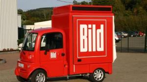 Mobile Promotion mit FreddyMobil für die BILD Zeitung