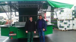 Mobiler Ausschankwagen Neumarkter Lammsbräu