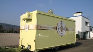 Mobiler Barwagen im Warsteiner-Design