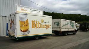 Neue Getränkeausschankwagen im Monat Mai