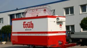 Neuer Ausschankwagen für G+P Leverkusen