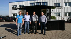 Partycooler Leon für unseren niederländischen Partner REZU