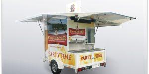Partycooler Little Ben für die Koblenzer Brauerei