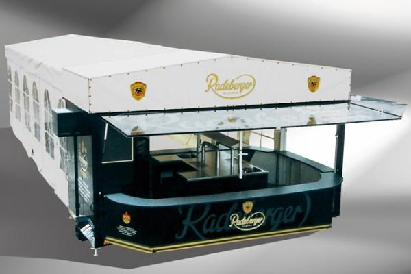 Partywagen 5500 8 EKAZ Partyroller Radelberger