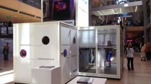 Promocube für Philips Smart TV auf Roadshow
