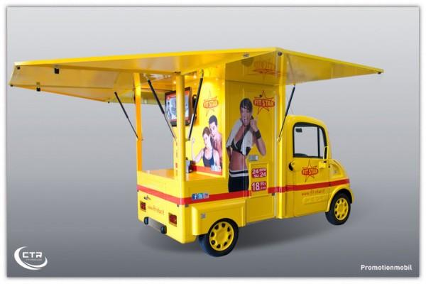 Promotionmobil FitStar