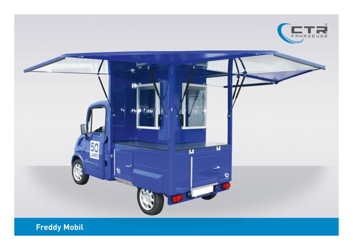 Freddy Mobil Promotionmobil Metro