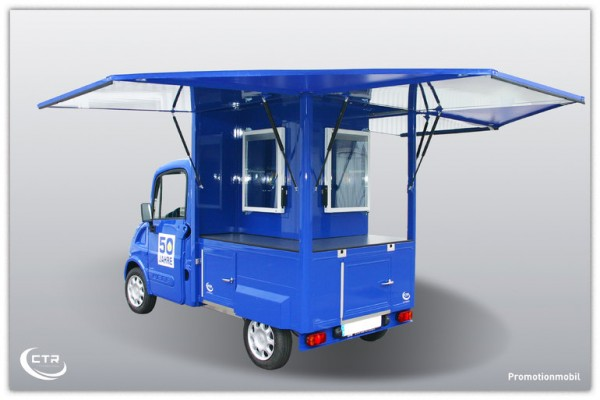 Promotionmobil METRO offen