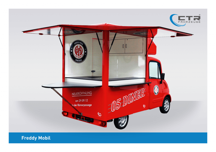 Freddy Mobil Promotionmobil Wache Dimo