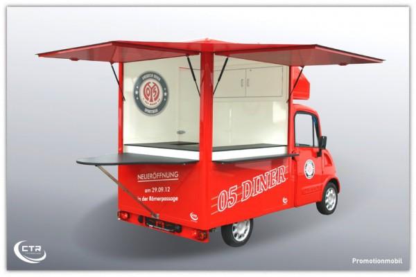 Promotionmobil Wache Dimo