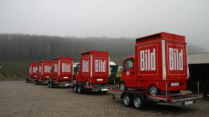 Promotionmobile für BILD