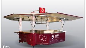 Rheinhessische Agrartage 2014 - Neuer Weinausschankwagen mit Fußbodenheizung für Weingut Berg