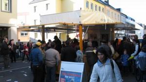 Schankwagen Beda-Markt Bitburg