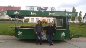 Schankwagen für Bier Bike Frankfurt