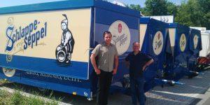 Schankwagen für Brauerei Eder & Heylands