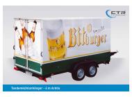 CTR-Fahrzeuge Kühlanhänger TKA Arktis 4 m Bitburger