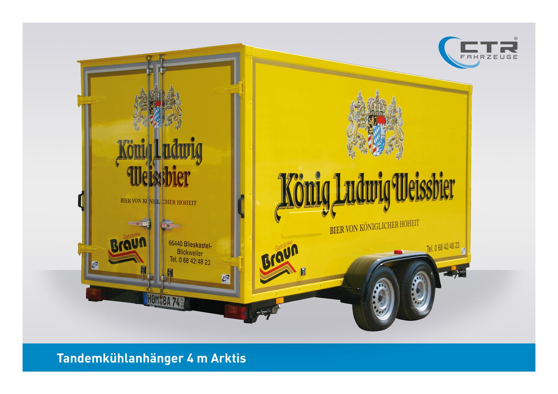 Kühlwagen Arktis