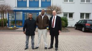 Unsere Kunden aus Addis Ababa - Robel Saido und Yohannes Megerssa