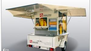 Verkaufswagen mit Kühlung