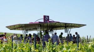 Wein-Verkaufswagen