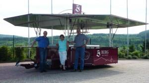 Weinverkauf Wagen für Weingut Berg