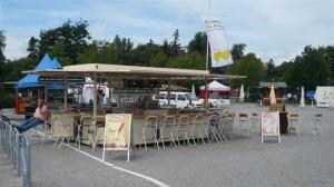 Weinverkaufsanhänger von CTR Fahrzeuge für den Pfälzer Weintreff
