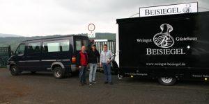 Weinwagen 4000-8 EAT für Weingut Beisiegel