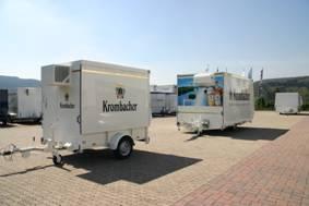 Zwei neue Fahrzeuge für die Krombacher Brauerei