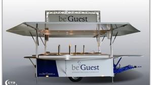 beGuest-Veranstaltungsservice mit Auschankwagen mit Kühlzelle