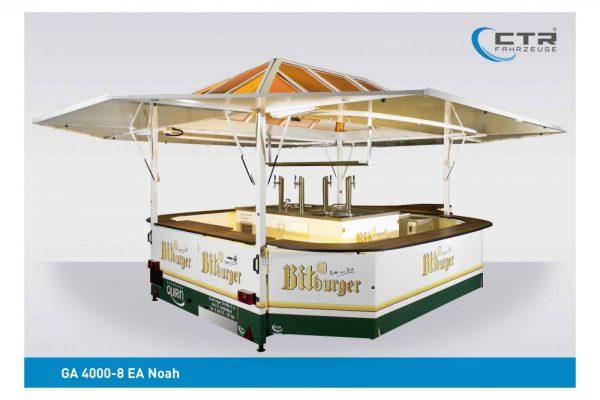 Absenkbarer Ausschankwagen Modell Noah