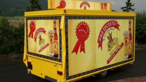 mobiler Ausschankwagen für Brasseries et Glacières