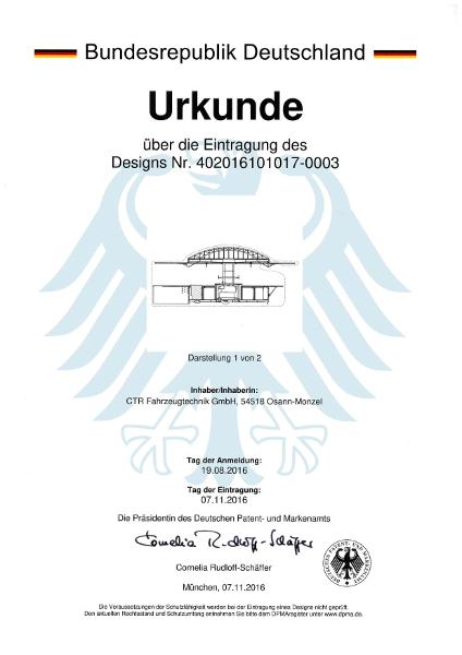 Urkunde Design Ausschankwagen 20016-3