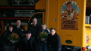 v. L. n. R. Frau Wetsch, Markus Wetsch, Horst Cordier, Klaus Nieding, Petra Nieding, Michael Bonefas