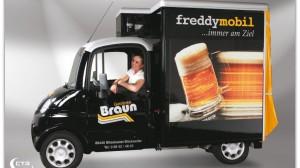 Ausschankmobil für unseren Stammkunden Getränke Braun aus Blieskastel