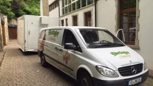Bierausschankwagen GA 4000-8 EK Shirin für den Waldkater aus Rinteln