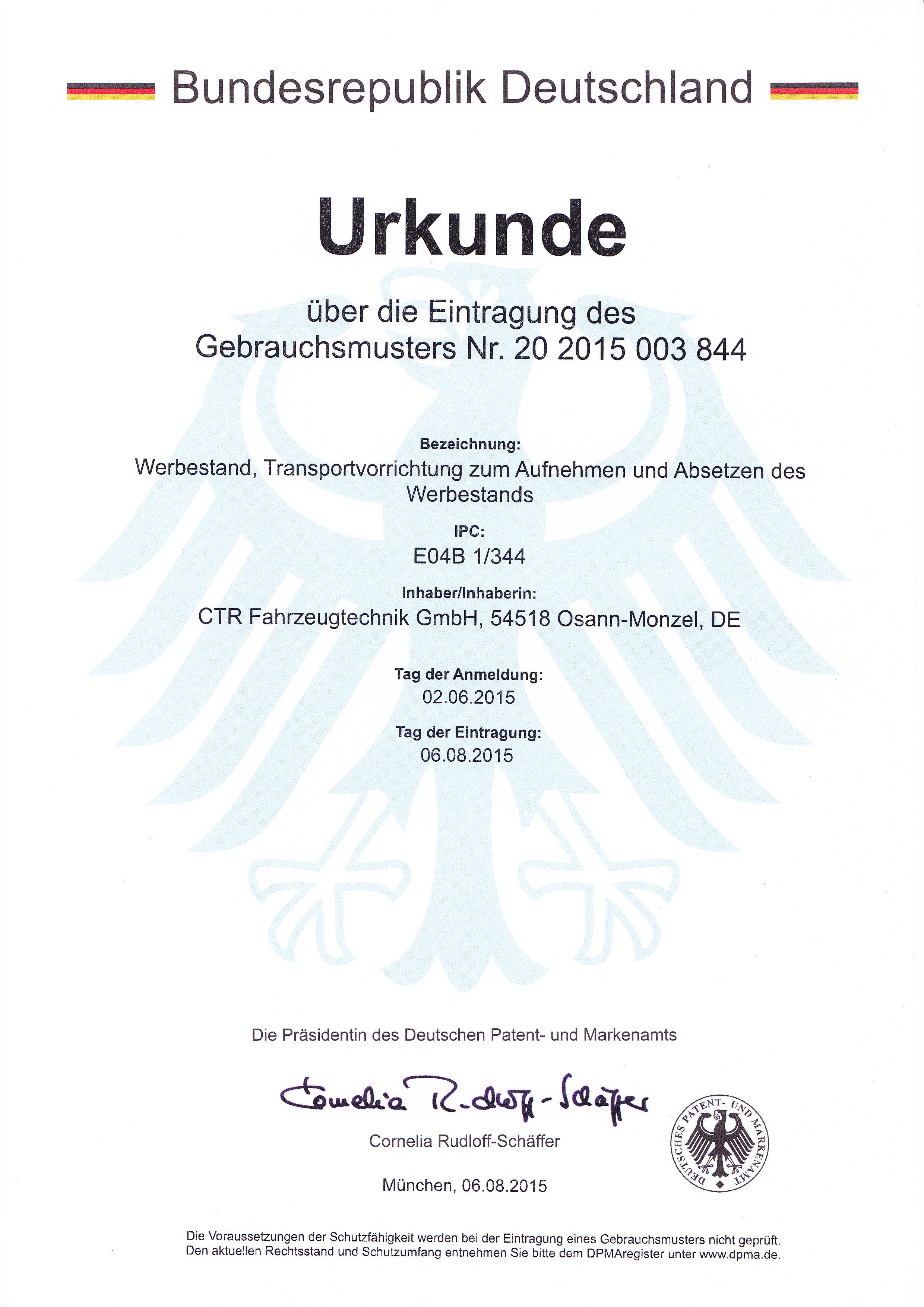 Urkunde-über-das-Gebrauchsmuster-20-2015-003-844