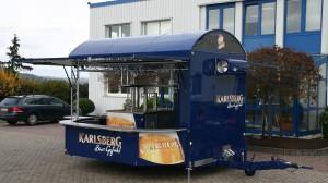 Ausschankfahrzeug GA 5000-8 EKT Shirin im Karlsberg-Design
