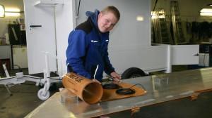 Der zweitbeste des Landes - Andreas Cremer bei der Arbeit