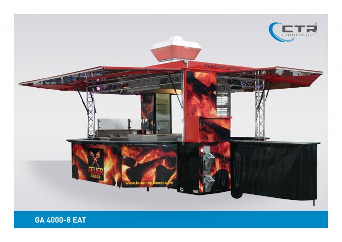 Grillwagen Imbisswagen 4000-8 EAT Feuerspiesser