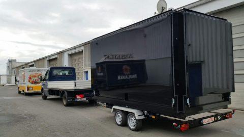 Promocube Bigsquare bereit für die anstehende Roadshow