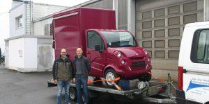 Ralf Jankovsky und Jörg Roos (Qualitätsmanagment CTR)