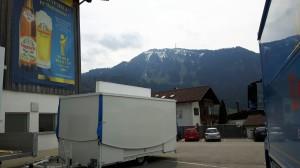 Schankwagen für Brauerei Engelbräu