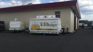 Ausschankwagen für Getränke Kessler