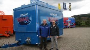 Günter Visang (li.) mit CTR-Projektmanager Jörg Roos