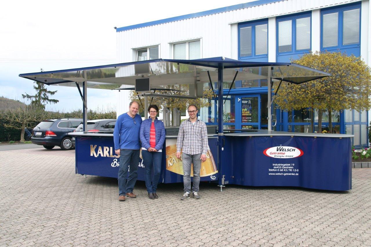 Ausschankwagen für Getränke Welsch aus Gersheim
